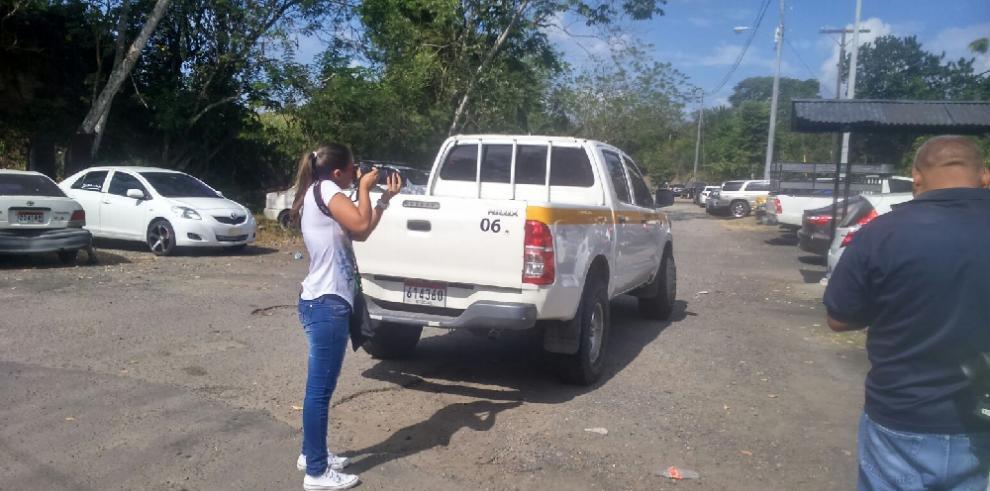 Detienen vehículo del IFARHU en Chepo con supuesta droga