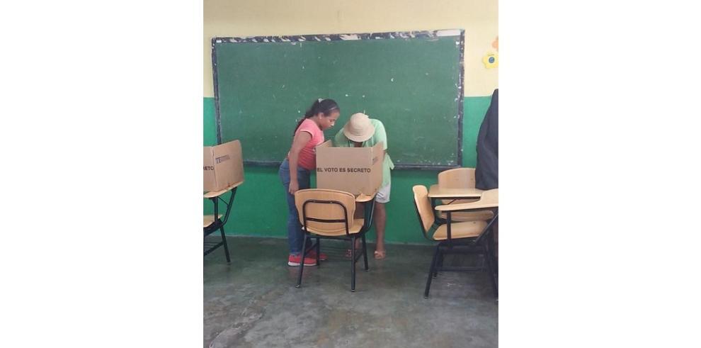 Gran participación de electores elecciones parciales de Pedregal
