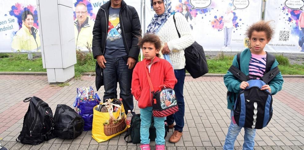 Cerca 13 mil refugiados llegaron a Alemania durante el fin de semana