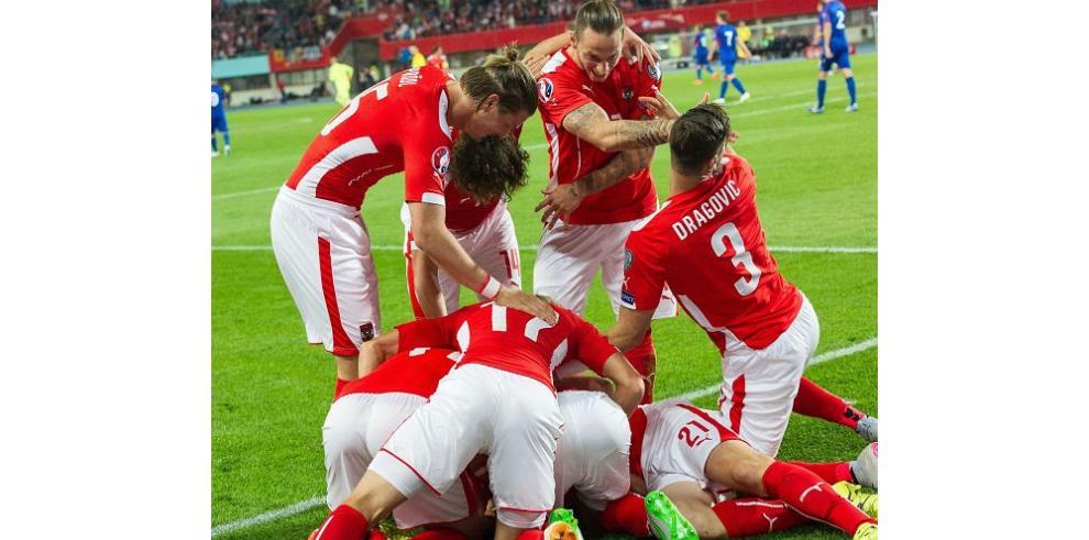 Austria da un paso decisivo a la Eurocopa al triunfar