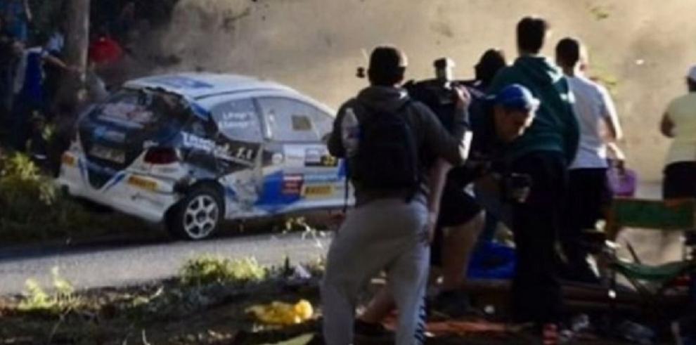 Se elevan a siete los muertos por accidente de rally en España