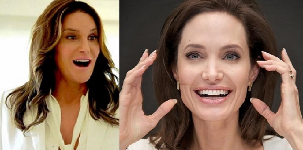 Caitlyn Jenner, quiere parecerse a Angelina Jolie