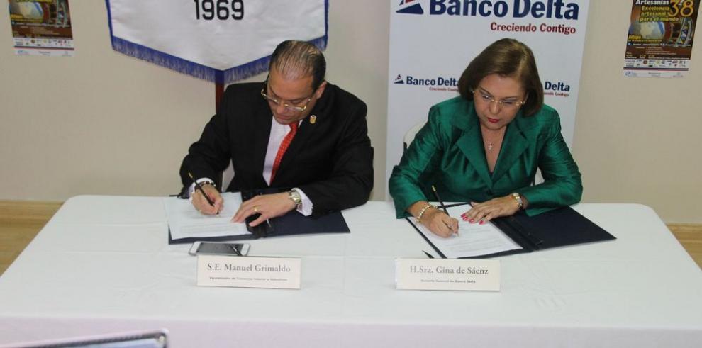 Banco Delta y MICI suscriben convenio ferial
