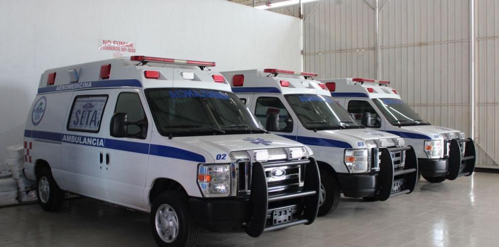 Panamá incrementa la exportación de ambulancias