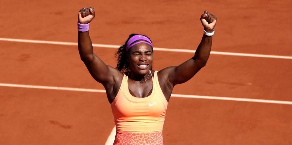 Serena Williams conquista su tercer triunfo en Roland Garros