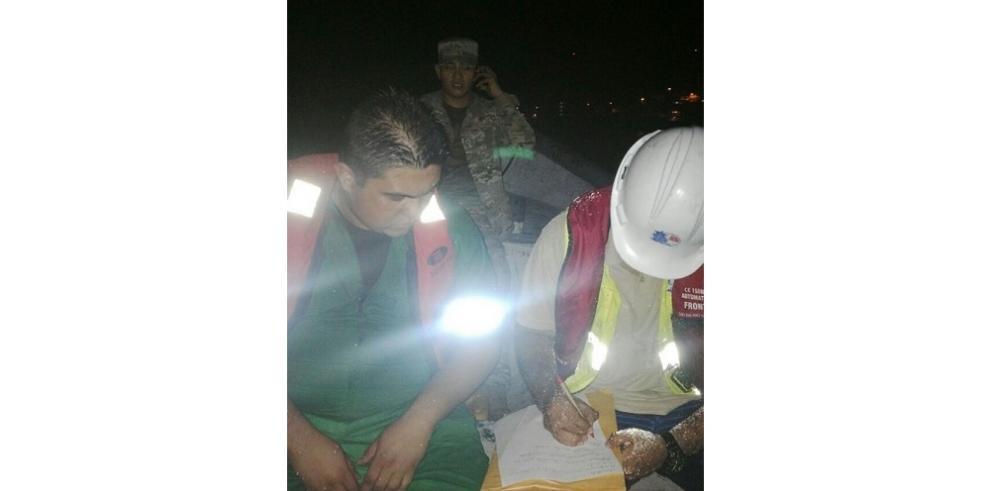 AMP evalúa contaminación de hidrocarburos cerca de isla Taboga
