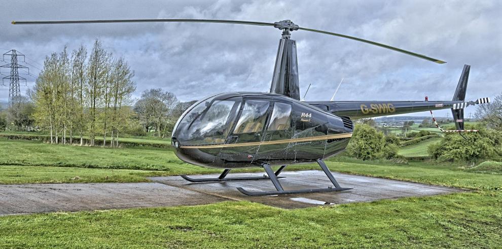 Hallan en Guatemala helicópteroabandonadocon matrícula panameña