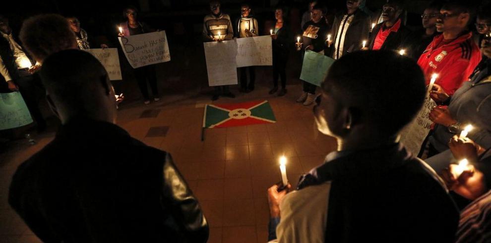 """Burundi, """"al borde de una guerra civil"""""""