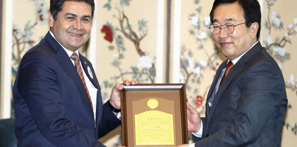 Honduras estrecha lazos con Corea
