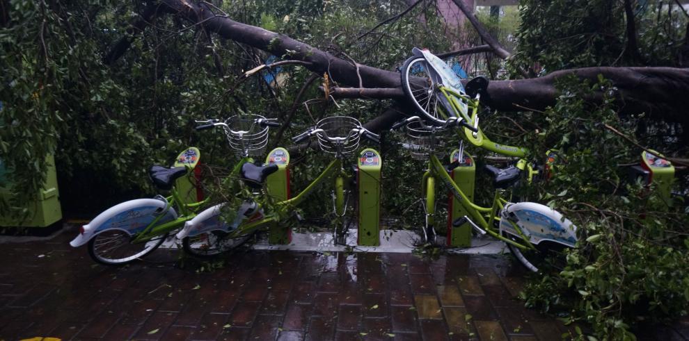 Tifón Mujigae provoca siete muertos en sur de China