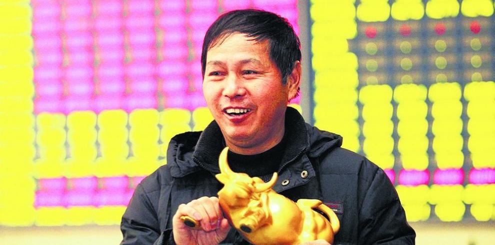 Alza bursátil china crea nuevos millonarios