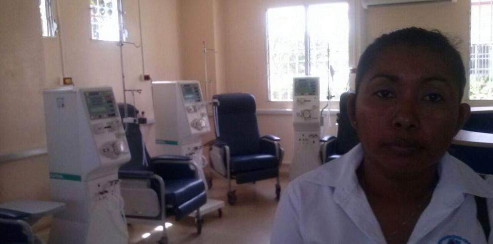 Nueva sala de hemodiálisis en Coclé