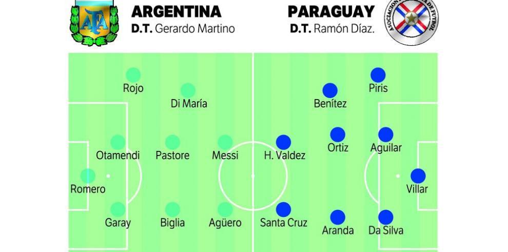 Argentina y Paraguay se disputan el cupo a la final