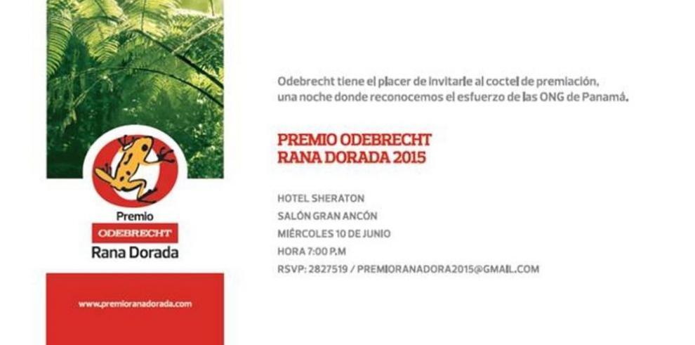 Esta noche premian la mejor práctica ambiental de Panamá