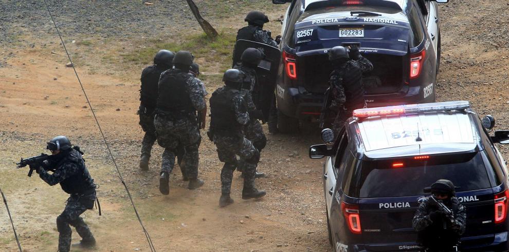 Fuerzas especiales realizan simulacro de seguridad para Cumbre