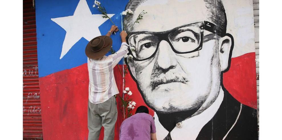Allende, en la memoria panameña