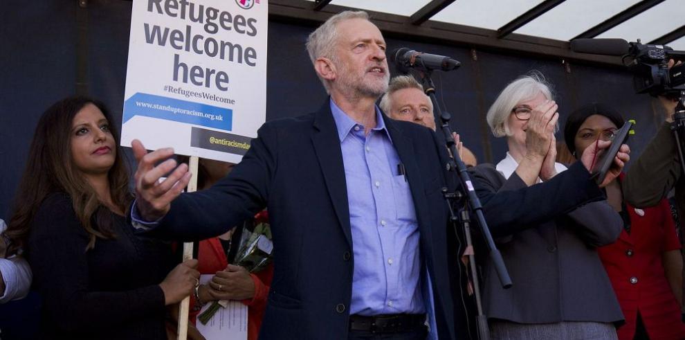 Laboristas eligen líder del ala izquierdista