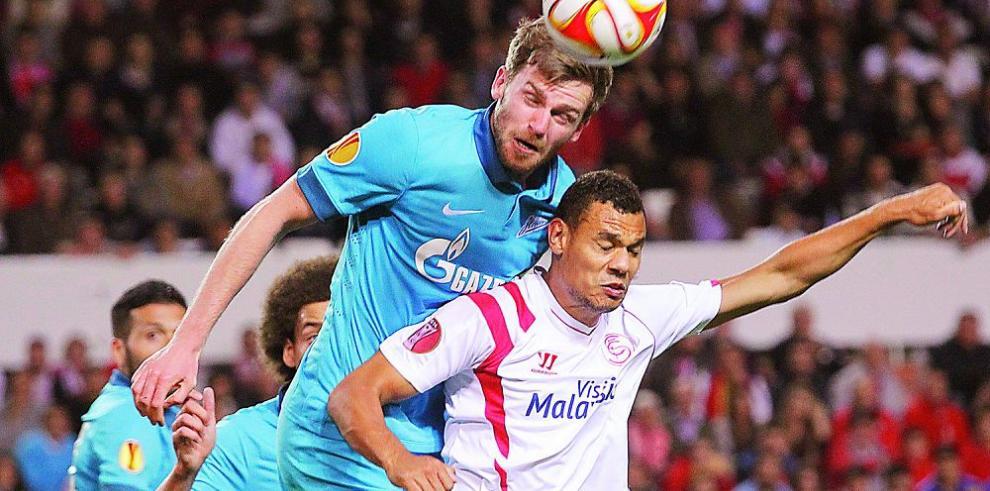 El Zenit rescata un valioso empate ante el CSK Moscú