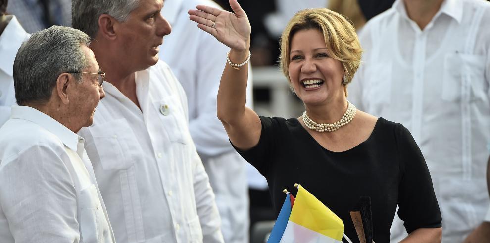 Lorena Castillo se disculpa por el malestar causado al viajar a Cuba