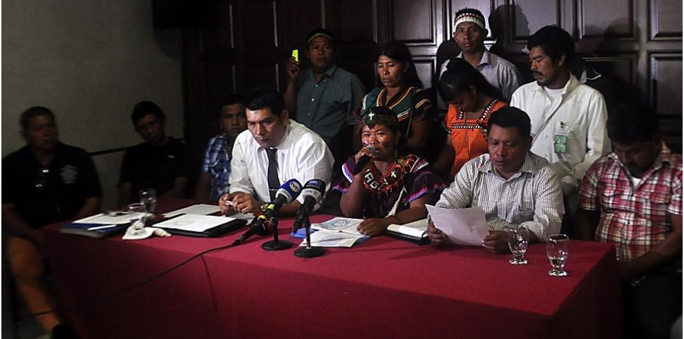 Indígenas Ngäbe Buglé anuncian cierre del puente de Las Américas