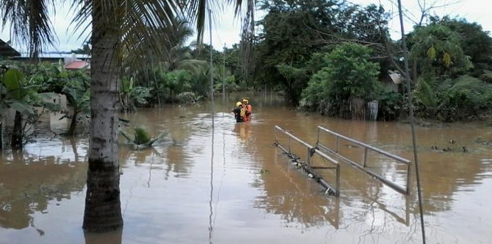 Lluvias causan estragos en Chepo
