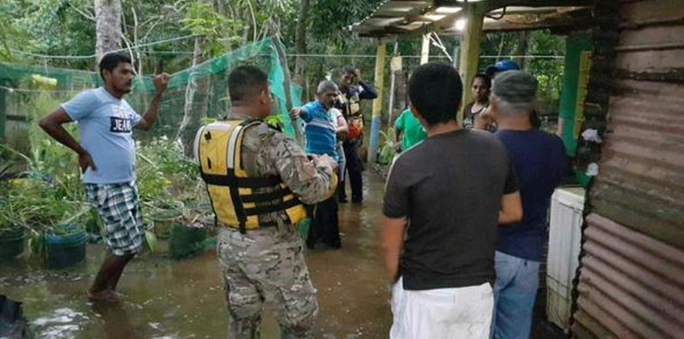 Al menos 349 casas resultaron afectadas por las inundaciones