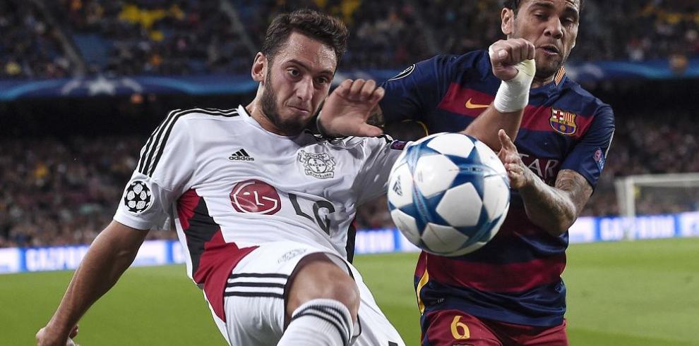 El Barça sufre sin Lio Messi