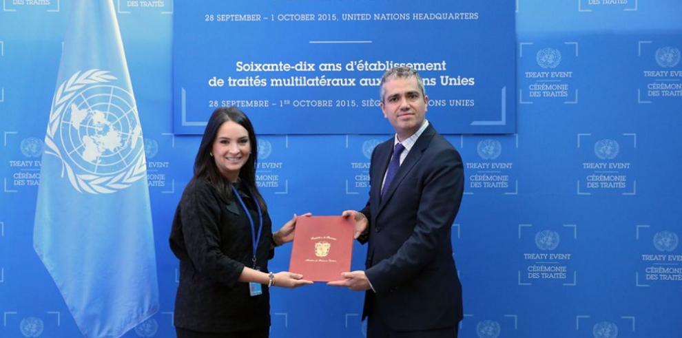 Panamá ratifica reducción de emisiones