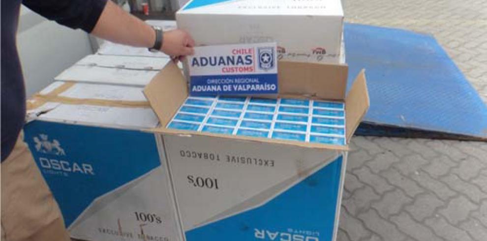 Alerta internacional de Panamá logra el decomiso de cigarrillos