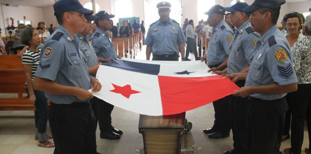 Despiden con honores a sobreviviente de Gesta Patriótica del 9 de enero