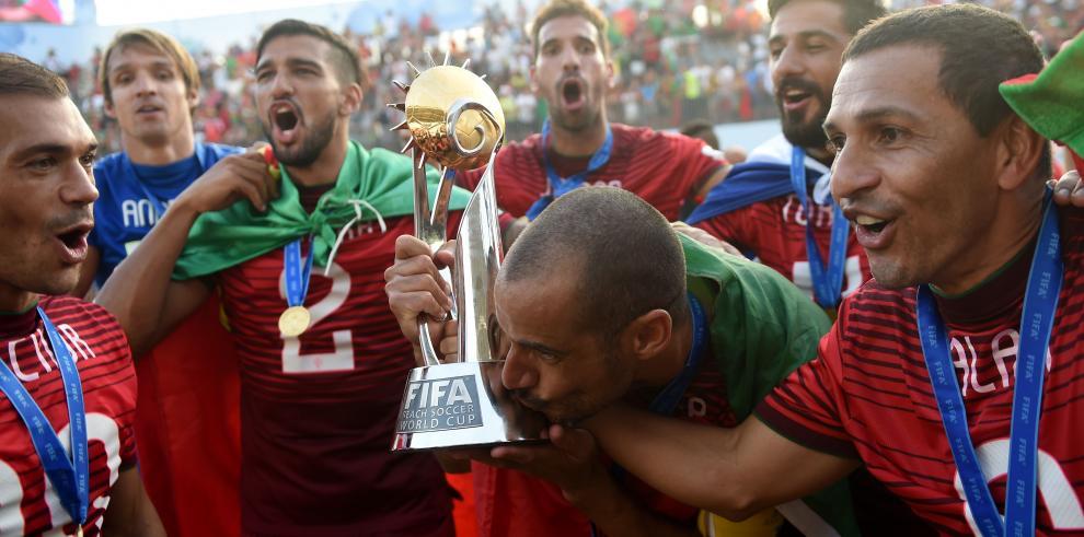 Portugal gana a Tahití y lograr su primer Mundial de fútbol playa