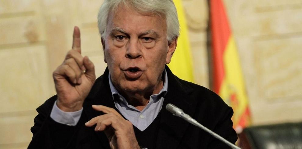 Felipe González asume defensa de López y Ledezma
