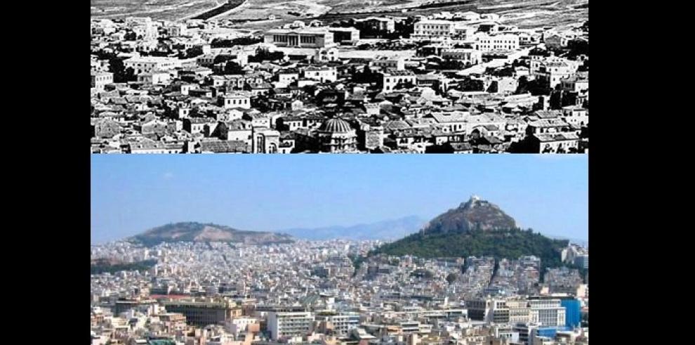 El antes y el ahora de las grandes ciudades en el mundo