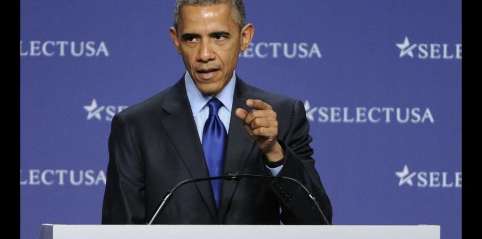 Obama anuncia nuevos esfuerzos para atraer más inversión extranjera