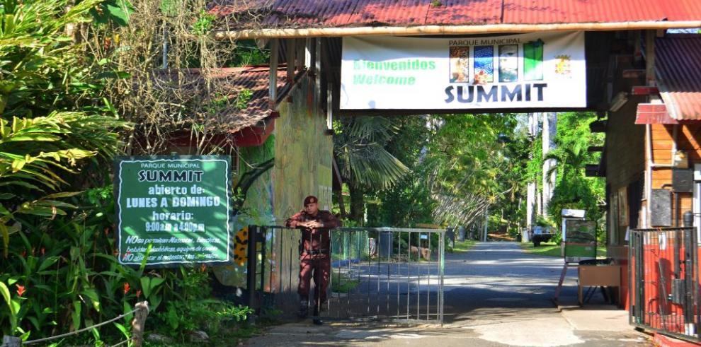Expertos de EE.UU. darán recomendaciones sobre parque Summit a Panamá