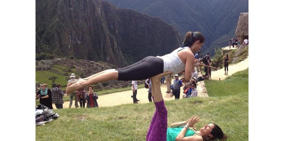 Yoga en la casa de Pachacútec