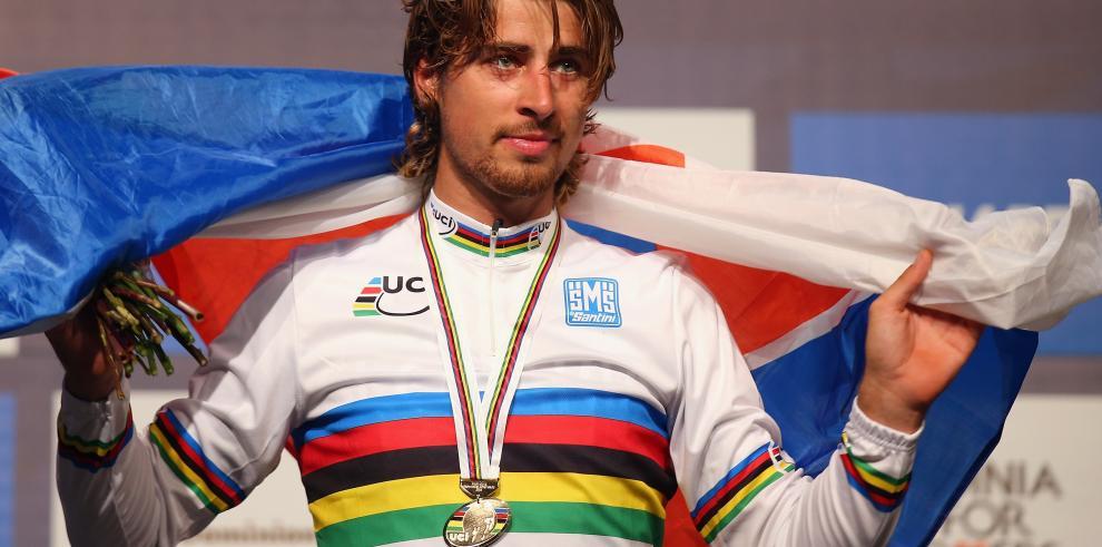 Eslovaco Peter Sagan, campeón del mundo de ciclismo en ruta