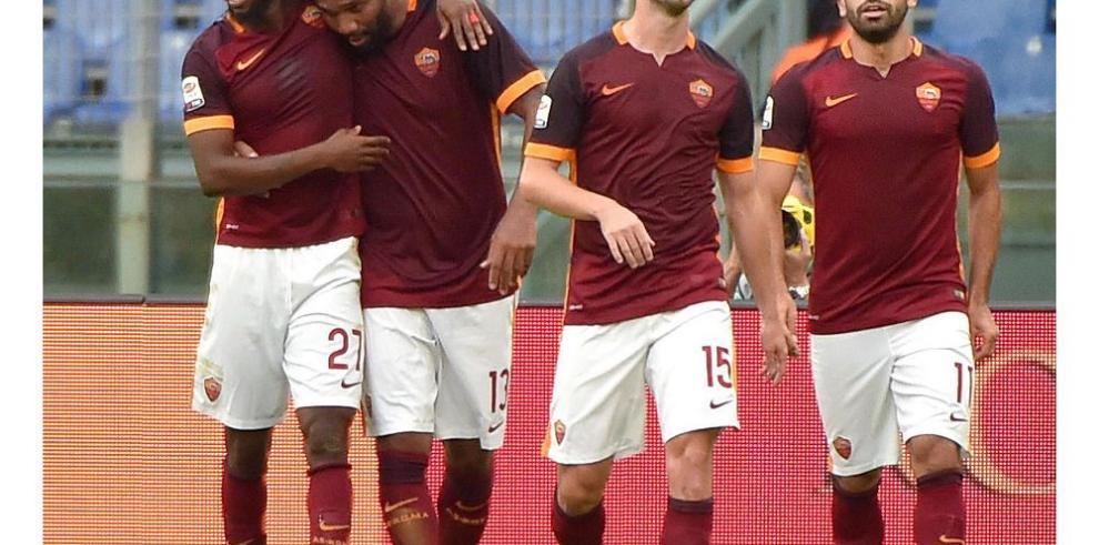 Roma sale de la crisis con victoria sobre Sampdoria