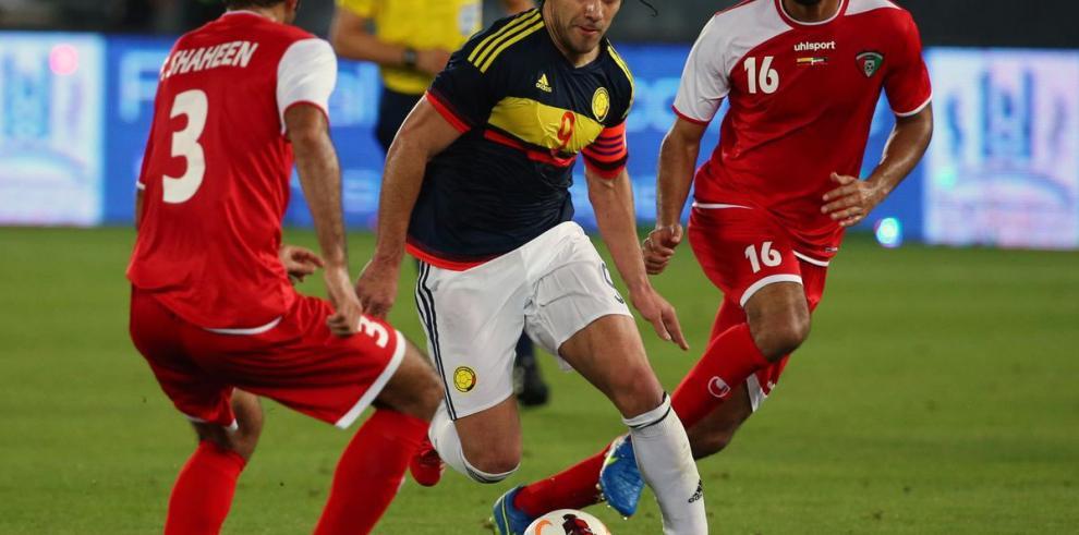 Radamel Falcao hace historia con Colombia