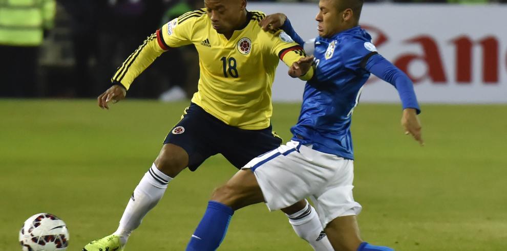 Colombia toma revancha y vence 1-0 a Brasil en Copa América