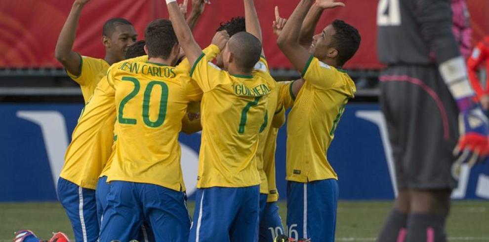 Brasil gana 5-0 a Senegal y pasa a la final del Mundial Sub-20