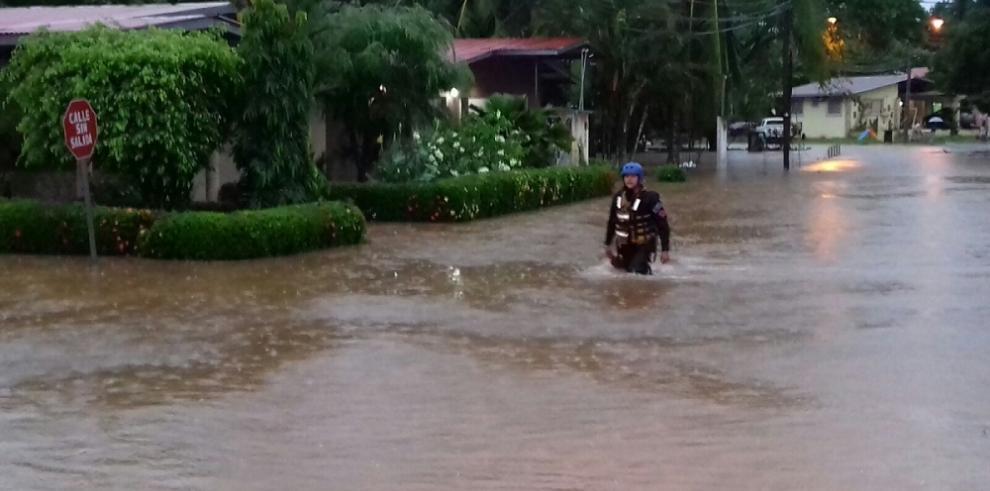 Varias casas afectadas en Chiriquí por la fuerte lluvia de ayer