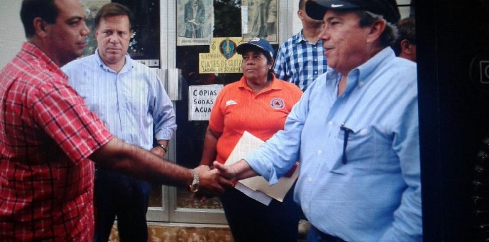 Varela ordena aprobar $25 mil para ayudar a damnificados de Juan Díaz