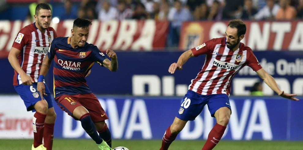 Messi derriba la resistencia del Atlético de Madrid y gana 2-1