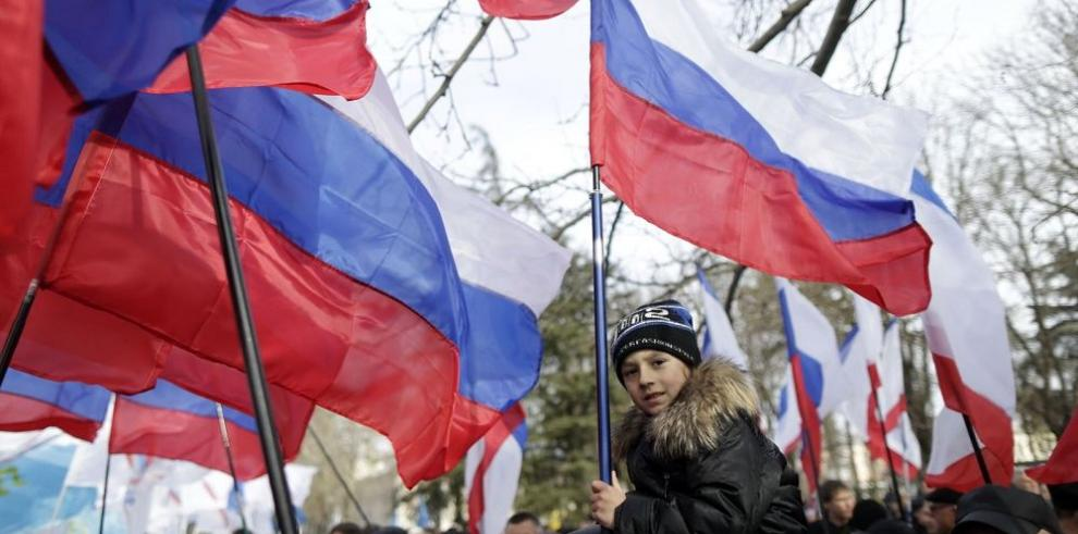 Crimea conmemora el primer año de su anexión a Rusia