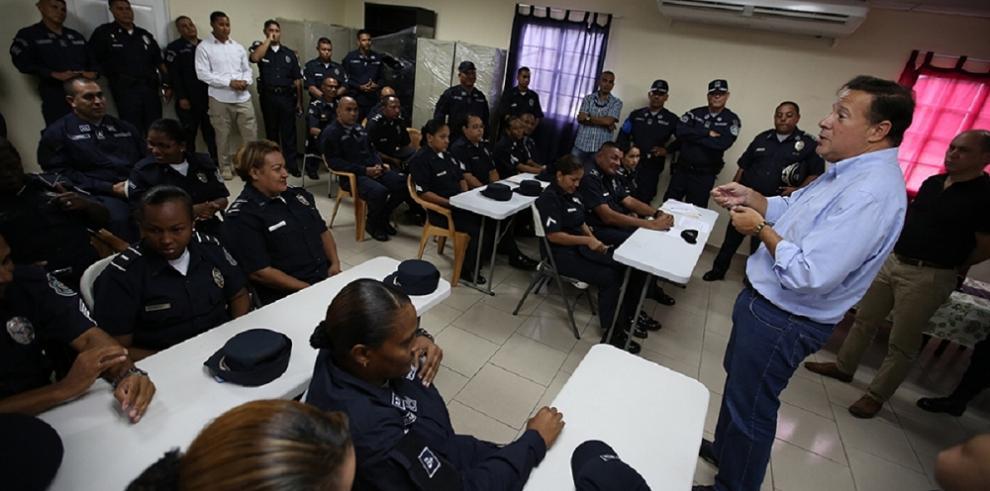Pie de fuerza de seguridad se incrementarán en todo el país