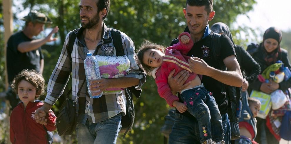 Los inocentes rostros de los niños migrantes sirios