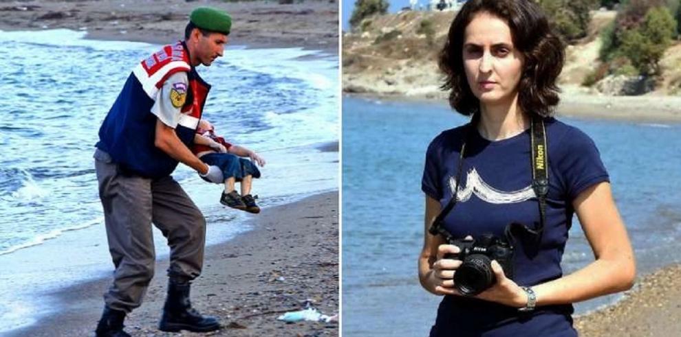 La fotógrafa que dio a conocer la realidad de los refugiados sirios