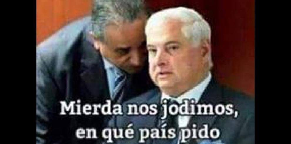 Rebeldía de Ricardo Martinelli inspira a cibernautas y crean memes
