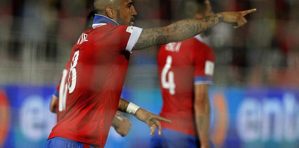 Chile y Colombia empatan por clasificatoria al Mundial de Rusia-2018